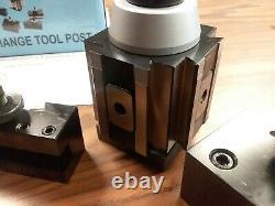 10-15 QUICK CHANGE TOOL POST-6PCS/SET-Piston TYPE #830B-532-new