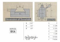 10-15 Quick Change Tool Post Set Wedge Type BXA