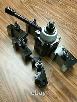 13-18 QUICK CHANGE TOOL POST-6PCS/SET Piston Type 250-300 #830C-532