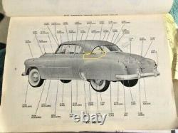 1950 1951 1952 Chevy Bel Air Hardtop NEW Rear Window Reveal Molding Clip Set