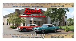 1955-1956 Oldsmobile & Buick 4 Door Sedan (with post) Door Sill Plate Set