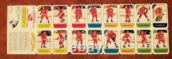 1982-83 Post Cereal NHL Hockey Mini Factory Set 21 UnCut Panels with Original Box