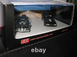 1/64 ACE Mad Max Interceptor 2 & Enemy's Landau Twin Set MOVIE CARS FREE POST