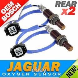 2PC Set Jaguar OXYGEN SENSOR Rear/Lower/Post-Cat Left AND Right Bosch OEM O2 02