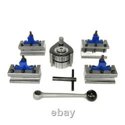 40 Position Quick Change Tool Post Set Type E for Swing 200-400mm Lathe