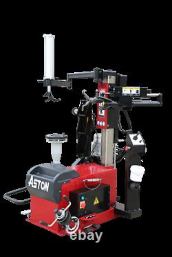 4.0HP Fully Automatic Leverless Center Post Tire Changer 1230 Wheel Balancer