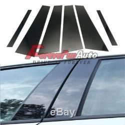 6pcs Set Pillar Posts Cover fits 2006-11 BMW 3-Series E90 Door Trim Window Cover