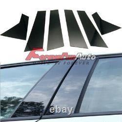 6pcs Set Pillar Posts Cover fits 2016-20 Honda Civic 10th Door Trim Window Cover