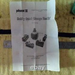 7 t0 9 inch lathe NEW Phase 2 II Quick Change Tool Post Set Atlas Logan Aloris