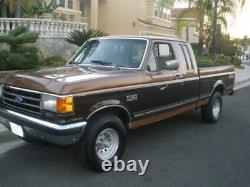 80 96 Ford 6Pc OEM Extended Cab Rocker & Door Post Set Front & Rear, Super Cab