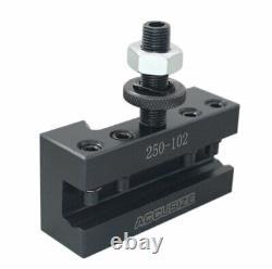 9 12'' Piston Type Quick Change Tool Post 6 Pcs/Set for 100 AXA, #0251-0100