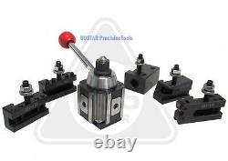 AXA 250-100 Piston Tool Holder Tool Post Set for Lathe 6 12