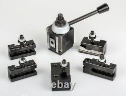 AXA Piston Tool Post Set CNC High Precision Quick Change Lathe Holder 100 Series