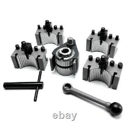 Aa 40 Position Quick Change Tool Post Set for Swing 120-220mm Mini Lathe