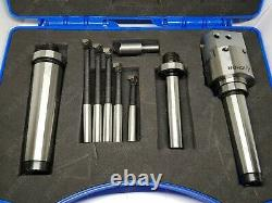 Anchor Tools MT2/MT3/12mm Boring Head Set 38mm Diameter Milling Tools UK POST