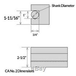 CA Wedge Tool Post Set for 14-20 Lathe Swing with Holder Numbers 1-2-4-7-10