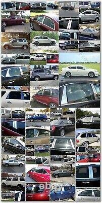 CHROME Pillar Posts for Cadillac Deville/DTS 00-11 6pc Set Door Trim Mirrored