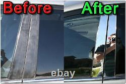 CHROME Pillar Posts for Lincoln Towncar 98-14 6pc Set Door Trim Mirrored Cover