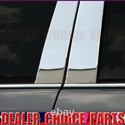 CHROME Stainless Steel Pillar Posts for 2007-2014 Ford Edge 11-15 MKX 8pc Set