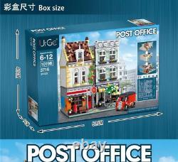 CITY Street New Modular Post Office Building Blocks Bricks Set Kid Toys
