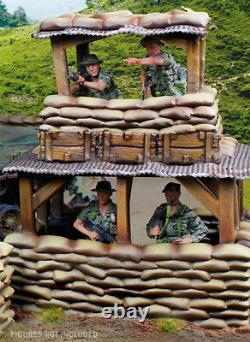 Collectors Showcase Vietnam War Csbunkop01 Bunker Tower Observation Post Set Mib