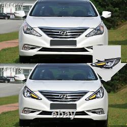 Customized LED Headlights with DRL for Hyundai Sonata 11-14 GLS Limited SE 11-13GL