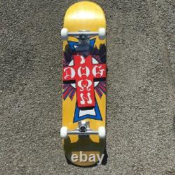 Dogtown Complete Skateboard Set Up 8.00 Inch Yellow Free Assembly Free Post