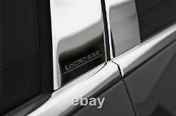 ENGRAVED PILLAR POST Moldings (6 Piece Set) For BUICK LACROSSE 2010-2016