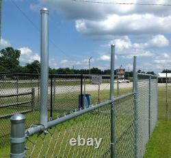 Extend-A-Post Post Extensions for Chain Link Fence Set of 9 SIZE 1-3/8