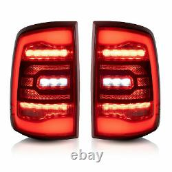 For 09-18 Ram All Trim Pickup & 19-21 1500 Classic RED Fiber Optic LED Taillight