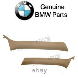 For BMW E46 323Ci Set of Front Left & Right Inner Windshield Post Trim Genuine