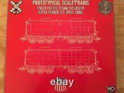 HO ScaleTrains Union Pacific Steam Excursion Water Tender Set (Post-2006) UP NEW