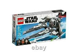 LEGO 75242 Star Wars Black Ace TIE Fighter (BRAND NEW SEALED) Express Post