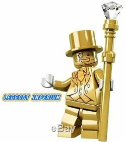LEGO MR GOLD Series 10 Collectible Minifigure Sealed inner packet FREE POST