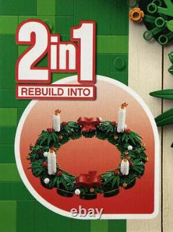 Lego 40426 Christmas Wreath 2in1 2020 Retired Set Brand New Sealed + Free Post