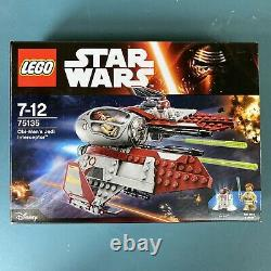 Lego Star Wars #75135 Obi-Wan's Jedi Interceptor, New & Sealed 2016 Free Post