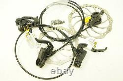 MAGURA MT2 HYDRAULIC DISC BRAKE SET + STORM ROTORS 180/160 POST MOUNT 800/1500mm