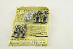Mathauser FINNED Brake pad set with threaded posts BMX NOS