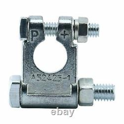 Military Style Battery Terminal Top Post Tool Set (+& -) For Car Boat Marine RV
