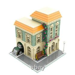 Modular Buildings Post Office with Delivery Car Building Toys Set 2308 Bricks