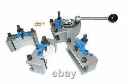 Multifix 40 position tool post holder type C Set for Lathe