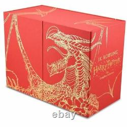 NEW Harry Potter 7 Books Complete Collection Hardback Gift Box Set FREE AU POST