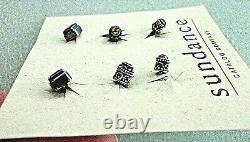 NIB Card SUNDANCE CATALOG COMPANY 3 Sets GEMSTONE ANTHOLOGY Post Stud EARRINGS
