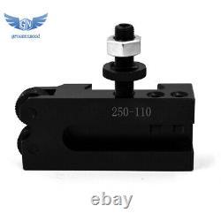 New AXA Size 250-100 Set Piston Type Quick Change Tool Post Set for Lathe 6- 12