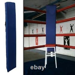 New Boxing Ring Corner Pads, Adjustable UK Post Protectors, Customize your Colours