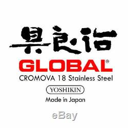 New Global Ikasu 7 Piece Knife Block Set Genuine Free Post Save