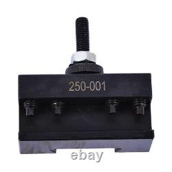 New OXA Wedge Type Tool Post Set 250-000 For Mini Lathe up to 8 USA