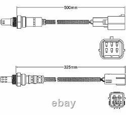 O2 OXYGEN SENSOR Kit for MAZDA 3 BL LF 2.0L 2009 2014 PRE POST CAT SET