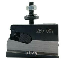OXA Type 250-000 Quick Change Tool Post Holder Set for Mini Lathe up to 8 inches