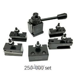 OXA Wedge Type 250-000(FX250-000) Tool Post Set For Mini Lathe up to 8